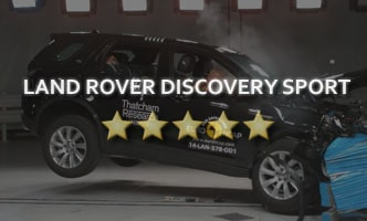 Краш-тест Land Rover Discovery Sport