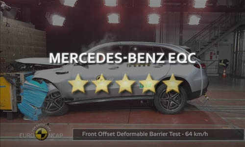 Краш-тест Mercedes-Benz EQC