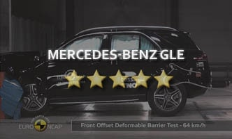 Краш-тест Mercedes-Benz GLE