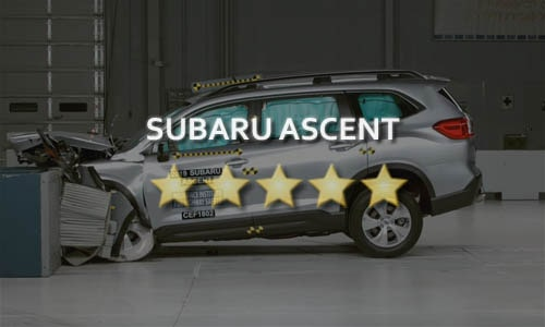 Краш-тест Subaru Ascent