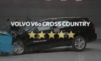 Краш-тест Volvo V60 Cross Country