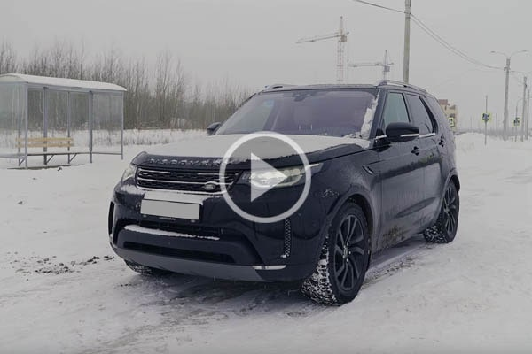 Тест-драйв Land Rover Discovery