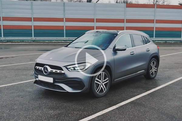 Тест-драйв Mercedes-Benz GLA